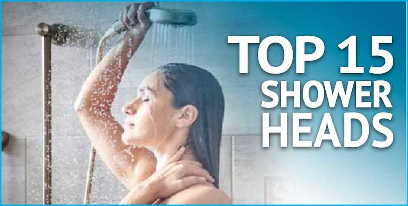 top 15 shower heads