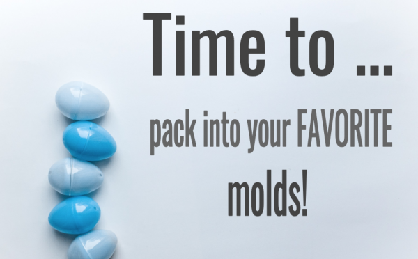 #5: As soon as your mixture sticks to itself, pack it into molds image