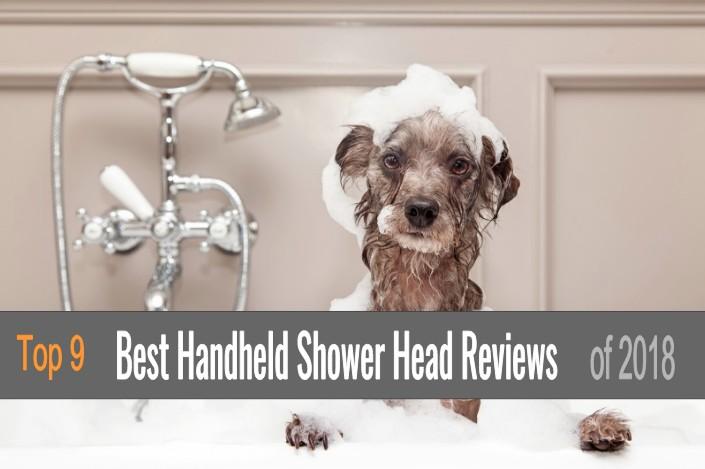 9 Best Handheld Shower Heads 2018 Featured Image