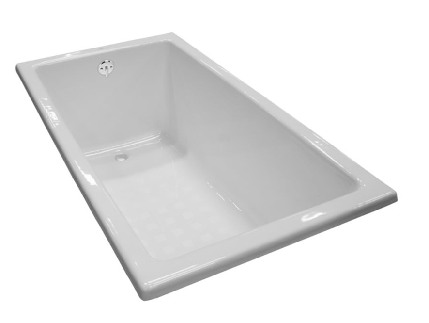 Toto Cast Iron Tub FBY1550PNo.01 Drop-in