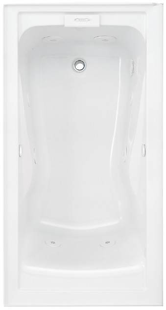 American Standard Whirlpool Bath - 2425VC-LHO.020 Evolution with EverClean