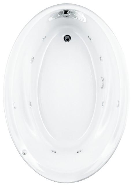 American Standard Whirlpool Bath Tub2903018WC.020 Savona Oval EverClean