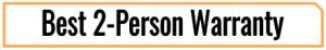 best 2-Person infrared sauna warranty tag