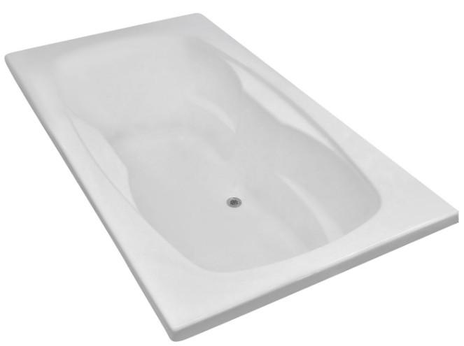 Carver Tubs AR7242 Drop-In Whirlpool Tub