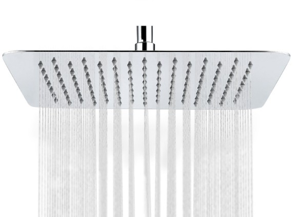 SR SUN RISE Ultra Thin 12 inch Rainfall best overhead shower head