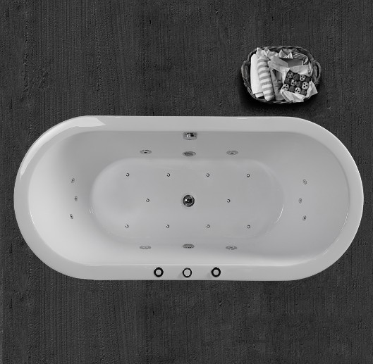 Woodbridge B-0030 Jetted Free standing Tub
