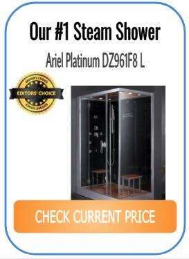 #1 steam shower - Ariel Platinum DZ961F8 L