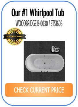 #1 whirlpool bathtub - WOODBRIDGE B-0030 / BTS1606