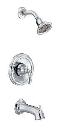 Moen T2153 Brantford Tub and Shower Faucet Set