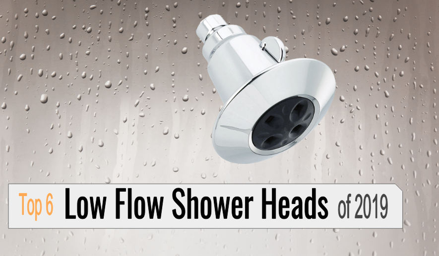 best low flow shower heads reviews 2019 featured image