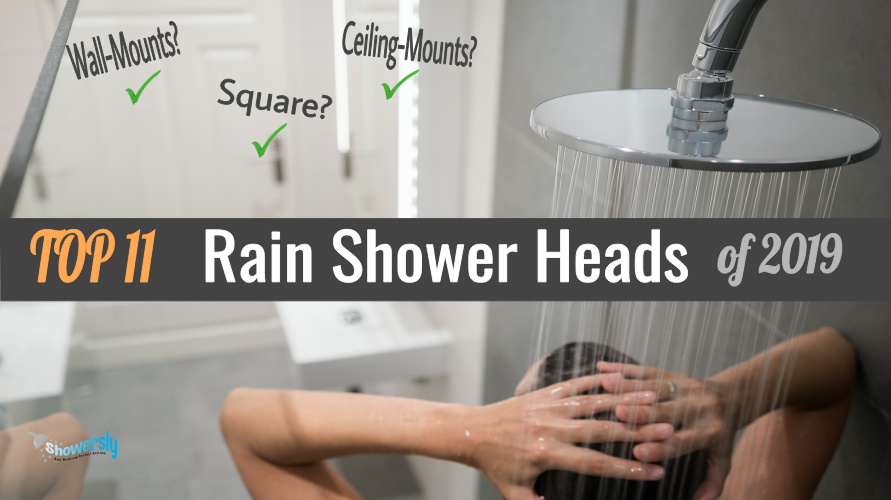 best rain shower heads reviews 2019 featured image