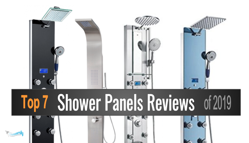 best shower panels reviews 2019 featured image