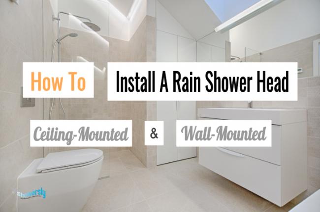 installing a rain shower head blog post #4