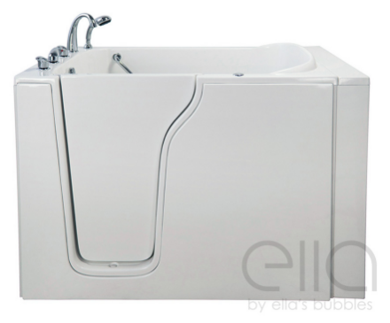 Ella's Bubbles - Bariatric Seat Hydrotherapy Massage Whirlpool Walk-In Tub