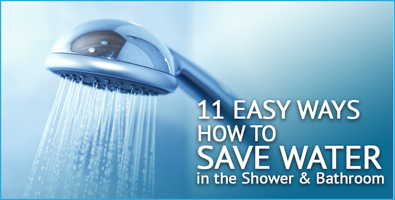 how to save water in the shower cover image