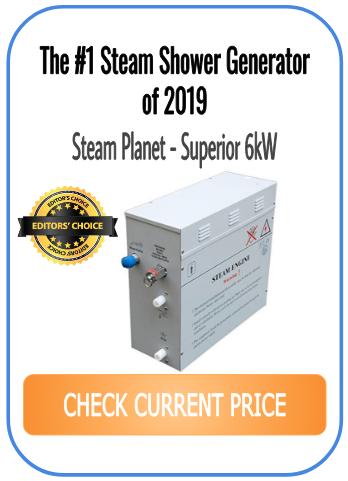 #1 steam generator for shower - Steam Planet Superior 6kW
