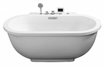Ariel Whirlpool Tub with Handheld Shower Head