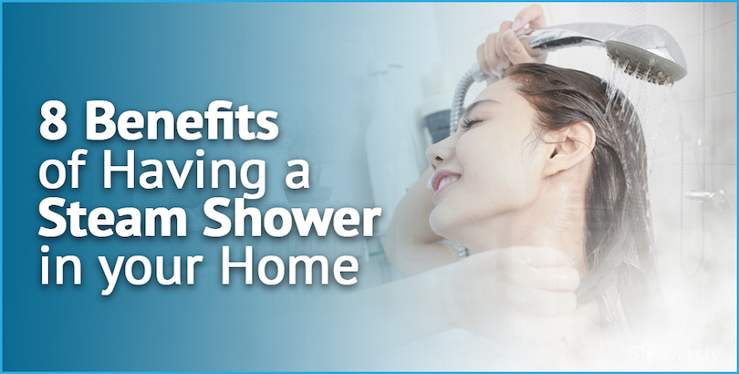 steam shower benefits cover image