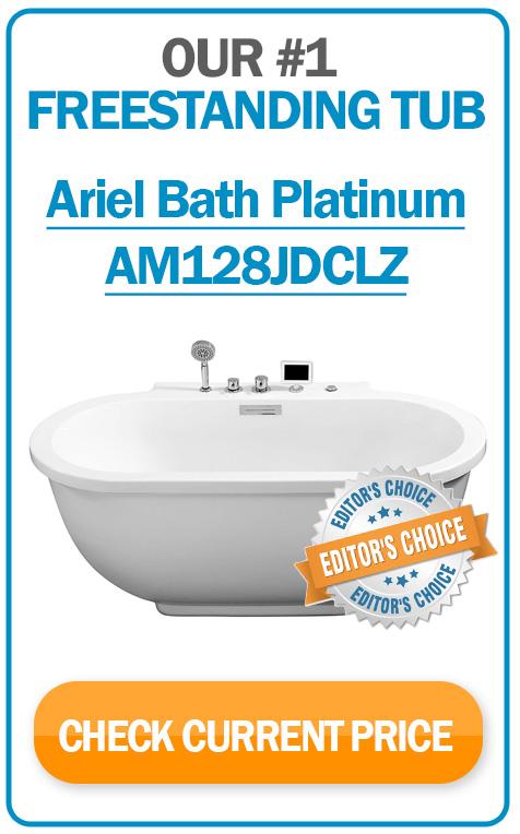 #1 free standing bathtub - Ariel Platinum