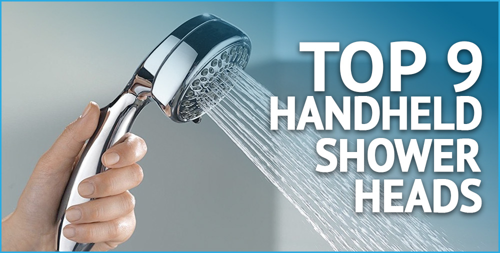 top 9 handheld shower heads