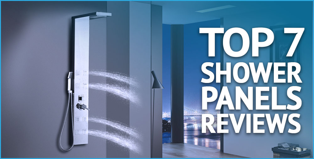 top 7 shower panels