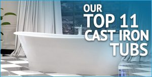 Top Cast Iron Tubs - Cover Image
