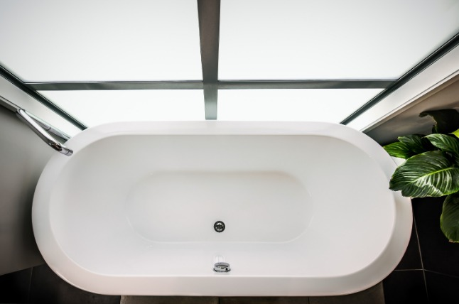 fiberglass bathtub