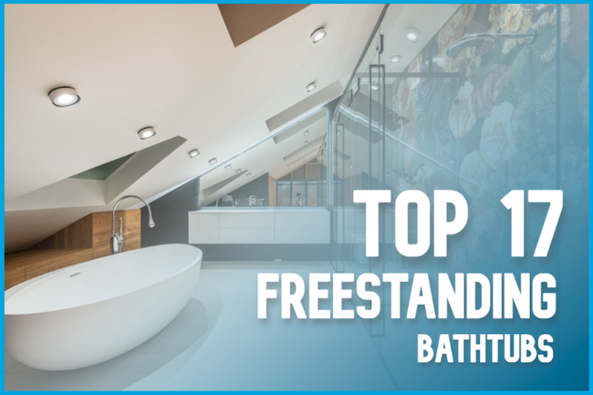 Top 17 Best Freestanding Bathtubs - Showersly Cover Image